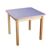 Стол деревянный цветной, Финекс (фиолетовый)