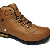 Ботинки Мужские Стильные Эко-кожа (В-40)