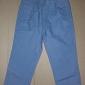 Распродажа - Chicco Брюки мальчику на рост 74 и 80 см. серые штаны