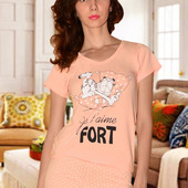 Женская пижама ( футболка+ шорты)