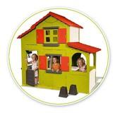 Двухэтажный домик с кухней барбекю Smoby