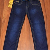 Подростковые джинсы на флисе для мальчиков 6, 8, 10, 12, 14, 16 лет