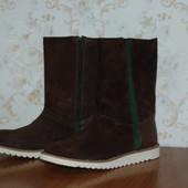 Замшевые сапоги ботинки Braska 38 - 39 размер