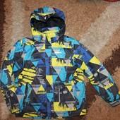 Термокуртка деми на мальчика 152 р