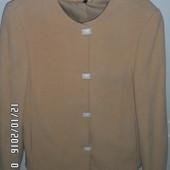 КАшемирое пальто одето парц раз 42-44