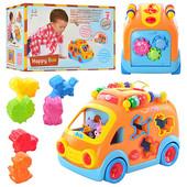 Развивающая игрушка автобус-сортер Huile Toys 988