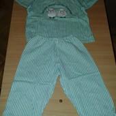 Пижама тепленькая, состояние отличное