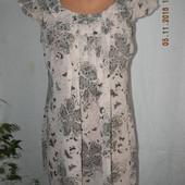 Легкое платье-туника с принтом
