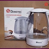Электрический чайник диск стеклянный Domotec из Германии