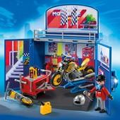 Playmobil игровой набор плеймобил 6157 Мото - мастерская от 4 лет. Германия