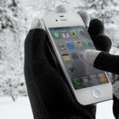 Сенсорные перчатки женские и подростковые