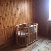 Легендарная кроватка Stokke Sleepi + Stokke Sleepi Mini