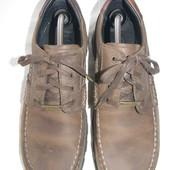 Мужские кожаные туфли  camel active p.8 дл.ст 28-28,3см