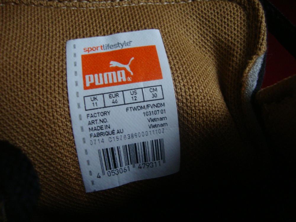 Кроссовки puma оригинал 45-46 размер фото №4