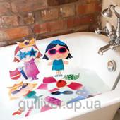 Игровой набор для ванной - стикеры Наряды 2 вида