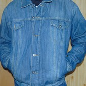 Фирмовая стильная зимняя джинсовая брендовая курточка Smog.хл .