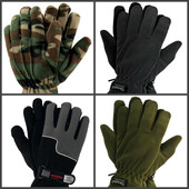 Зимние перчатки флис + Thinsulate тм Reis,Польша. От 77 грн