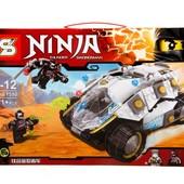 """Конструктор Ninja Sy590 (аналог Lego Ninjago 70588) """"Титановый вездеход"""" 360 дет"""