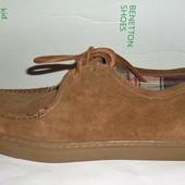 40 Шикарные замшевые туфли United Colors of Benetton