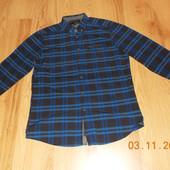 Красивая фирменная рубашка для мужчины, размер L