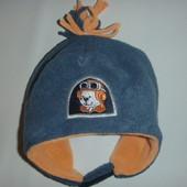 шапка флис на ог 46-48 см