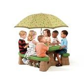Игровой стол для пикника с зонтиком Step2 7877