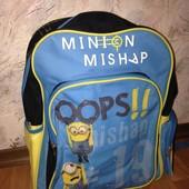Рюкзак для школьника Миньоны Посіпаки