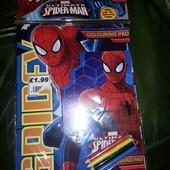 Раскраска (набор) Человек-паук (Spiderman)