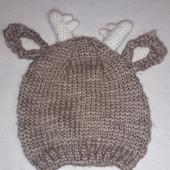 Прикольная  шапка 52-54 см