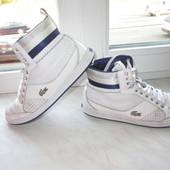 Кожаные кроссовки Lacoste 39 р. Оригинал.