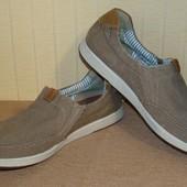Туфли мокасины мужские Clarks (размер 42)