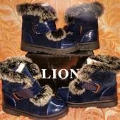 Зимние ботиночки опушка кролик в наличии