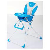 Детский стульчик для кормления Q01-Chair-4, голубой