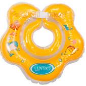 Круги для купания малышей c погремушкой Lindo ( цвета в ассортименте)
