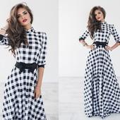 Платье отменного качества, 2 цвета! С 42 по 48 р-р.