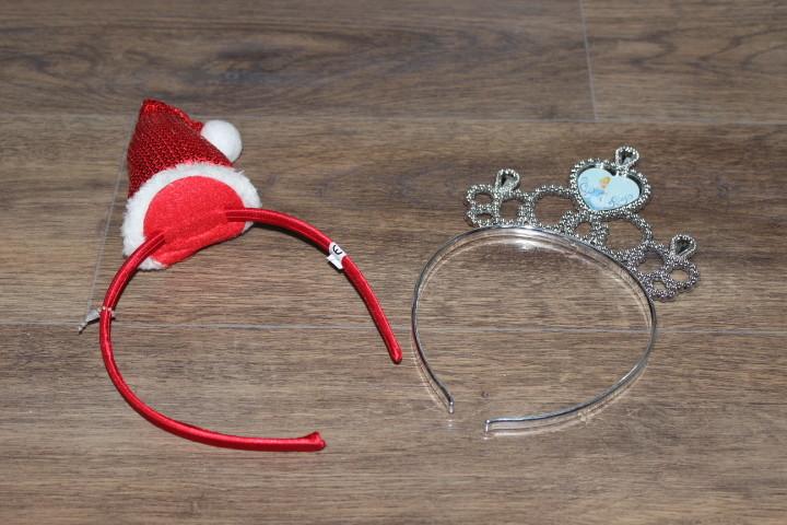 Готовимся к Новому году!!! Красивые новые фирменные ободки для девочек фото №1