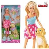 Кукла Steffi с собачкой Simba 5737224