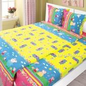 Детский постельный комплект Свинка Пеппа