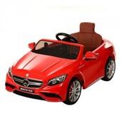 Детский электромобиль Mercedes M 2797 ebr-3 , колеса eva, красный