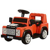 Детский электромобиль Land Rover M 3163 BR-3, красный