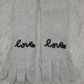 Вязанные удлиненные перчатки Такко(германия)