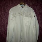 Белая рубашка Napapijri оригинал разм.XL