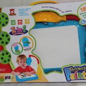 Проектор столешница, детский чертежный стол