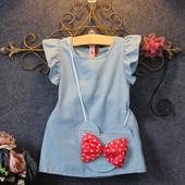 Легенькое платье с мини сумочкой под заказ