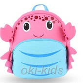 Рюкзак Крабик, розовый. Nohoo