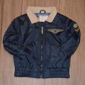 Непродуваемая деми куртка 80 см
