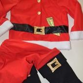 костюм санта 3.5-5 лет