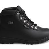 Код: gr1181  Мужские спортивные зимние теплые ботинки на шнуровке черного цвета