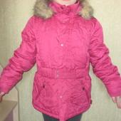 Демисезонная курточка на девочку 7-10 лет Pampolina