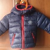 крутая курточка моднику.68-74 см
